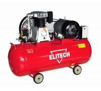 Ременной компрессор Elitech КПР 100/450/2,2