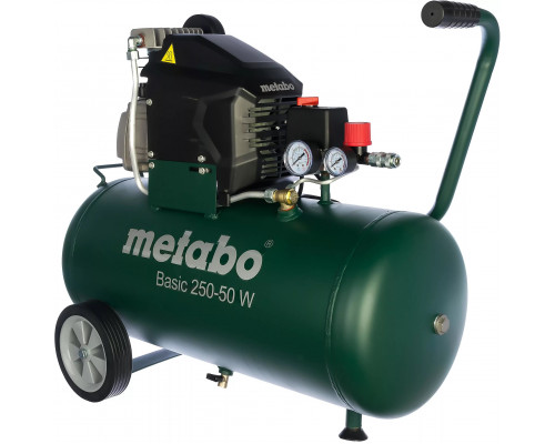 Компрессор воздушный масляный Metabo Basic 250-50 W
