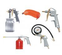 Набор пневмоинструмента 5 предметов (к/р с нижним бачком)