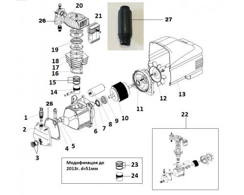 Статор (КПП-280-50) L