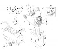 Электродвигатель 2,2 кВт/380В (АВ-100/360)