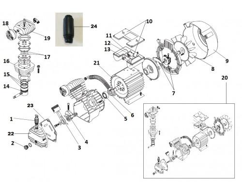 Статор (КПП-360-50) L