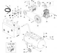 Электродвигатель 1,5 кВт/220В (АВ50/338)