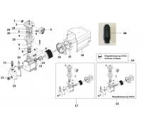 Электродвигатель помпа (КПП-200-24) 1,5кВт