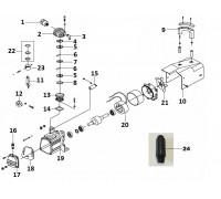 Прокладка крышки цилиндра (КПП-150-15)
