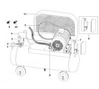 Электродвигатель 5,5 кВт (КПР-1180-160)