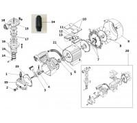 Электродвигатель-помпа (КПП-360-50) 2,2кВт L