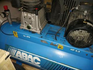Компрессор ABAC в ремонте