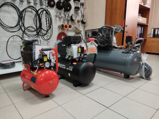 Поршневые компрессоры в торговом зале